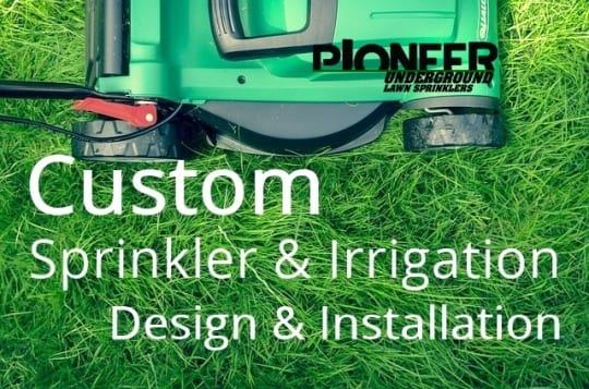 Underground Sprinkler System | Pioneer Underground Lawn Sprinklers