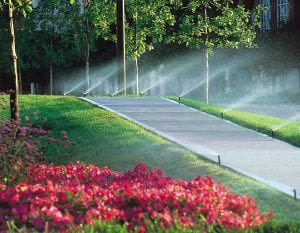 commercial services sprinklers and irrigation Omaha